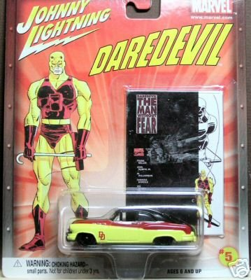 Marvel Diecast Car: Johnny Lightning Daredevil #5 Buick Bumongous - 1