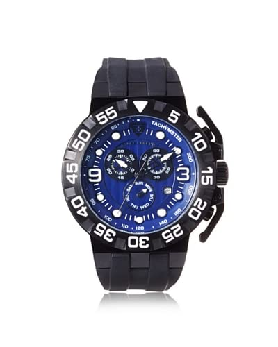 Swiss Legend Men's 10125-BB-03 Challenger Blue Silicone Watch