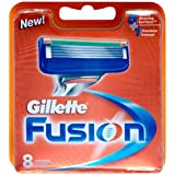 Gillette Fusion Manual Razor Blades, 8 Blades