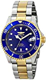"Invicta Mens 8928OB ""Pro Diver"" 23k Gold Plating and Stainless Steel Two-Tone Automatic Watch"