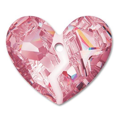 Cuore Swarovski Forever 1 6263 mm. 36 Crystal Antique Pink x1