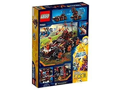 LEGO 70321 Nexo Knights General Magmar Siege Machine of Doom Construction Set - Multi-Coloured