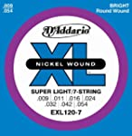 D'Addario EXL120-7 XL Nickel Wound Su...