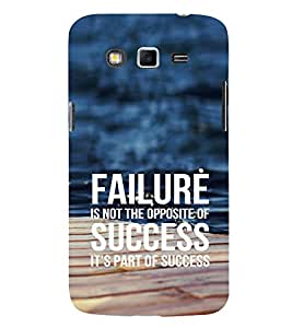EPICCASE Failure is part of success Mobile Back Case Cover For Samsung Galaxy Grand Prime (Designer Case)