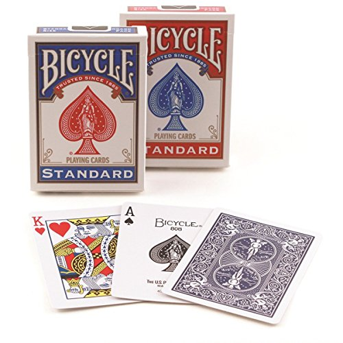 Bicycle Rider Back Poker Playing Cards, 4 Piece (Air Rider compare prices)