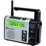 MIDLAND XT511 22-CHANNEL GMRS EMERGENCY CRANK RADIO WITH AM/FM/WEATHER ALERT & GMRS RADIO