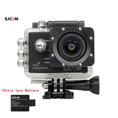 SJCAM-SJ5000X-Elite-WiFi-4K-24fps-2K30fps-Gyro-Sports-DV-20-LCD-NTK96660-Diving-30m-Waterproof-Action-Camera-Black