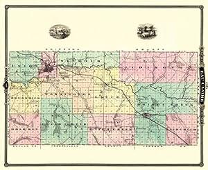 Eau Claire County Wisconsin Wi Landowner Map