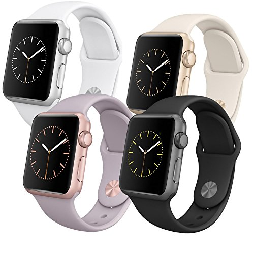 Apple-Watch-Sport-MJ2X2FDA-38mm-Smartwatch-Clock-Uhr-Aluminium-Fitnessarmband