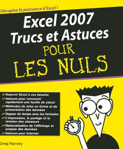 Livre excel 2007 trucs et astuces pour les nuls - Immobilier pour les nuls ...