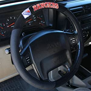 NHL Poly-Suede Steering Wheel Cover
