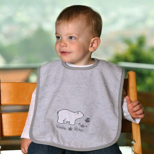 worner-sudfrottier-nuova-collezione-orso-polare-grigio-chiaro-bavaglino-asciugamani-da-bagno-guanto-