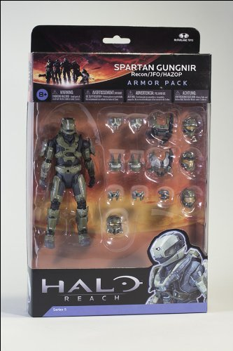 Spartan Gungnir Deluxe Armour Pack - Halo Reach Series 5 Deluxe Box Set (Halo Reach Spartan Action Figures compare prices)
