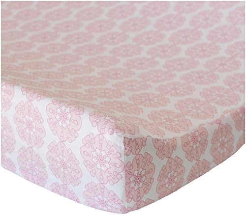 Oliver B Changing Pad Cover - Pink Petals