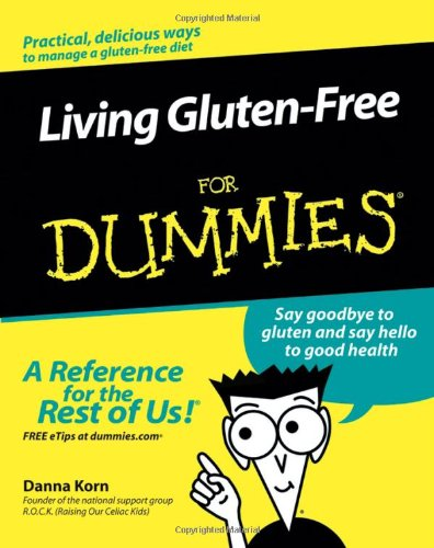 Living Gluten-Free For Dummies front-1036119