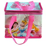 Disney Princess Insulated Lunch Bag Pink Tote 7x8x5