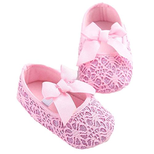 Chaussures de bébé,Fulltime®Chaussures Baby Girl soft Soled antidérapante Chaussures Crib Shoe