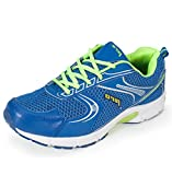 Pro (from Khadims) Men's Blue Synthetic Sports Sneakers - 9
