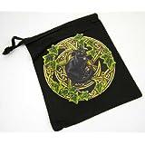 Tarot Bag Pouch Pentagram Cat By Lisa Parker 20X24cm