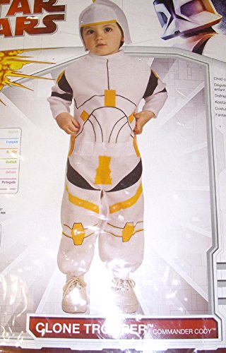 Star Wars Clone Wars Clone Trooper Commander Cody Bunting Infant Costume
