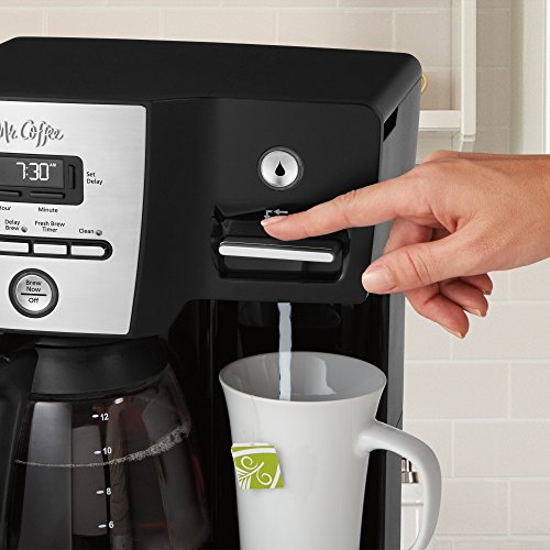 Dual Coffee Maker Hot Water Dispenser : Mr. Coffee BVMC-DMX85 12-Cup Programmable Coffeemaker with Integrated Hot Water Dispenser, 16 ...