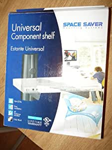 Space Saver DVD/VCR Component Shelf