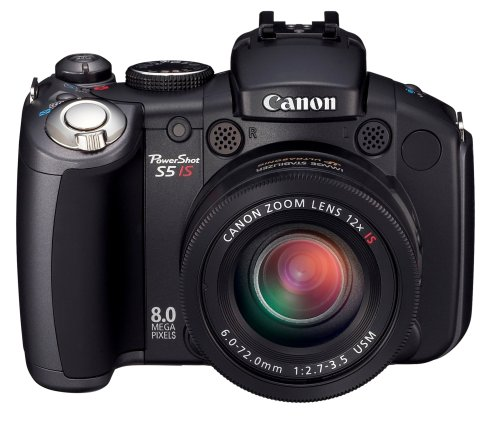 Canon PowerShot S5 IS is one of the Best Point and Shoot Digital Cameras for Low Light Photos Under $500