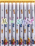 Disney voile net curtain WINNIE THE POOH ready made, width 126cm x drop 150cm