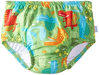 i play Little Boys' Ultimate Snap Swim Diaper (Toddler) - Lime - 3T