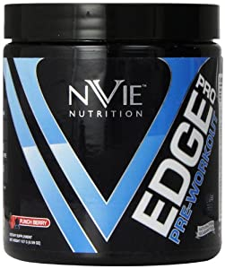 NVIE Nutrition Edge Pro Supplement, Berry Punch, 187 Gram