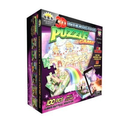 Popar Princess Castle 3D Interactive Puzzle Game 100 Pieces