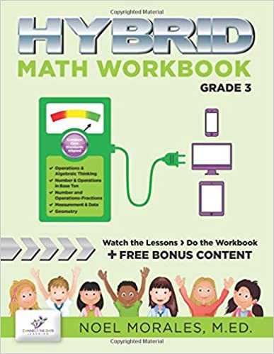Hybrid Math Workbook Grade 3