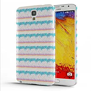 Koveru Designer Protective Back Shell Case Cover for Samsung Galaxy Note 3 Neo - Roughly Floral