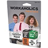 ICUP Workaholics Party Dice Drinking Game Glass, Clear
