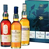 The Green 'Gentle' Classic Malts Collection - 3 x 20cl Single Malt Whisky Bottles