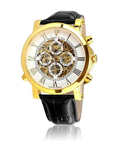 Boudier & Cie Reloj SK14H035 Blanco / Negro 43 mm