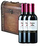 Casillero del Diablo Cabernet Sauvignon 75cl Bottle in Gold Gift Carton with Hand Crafted Gifts2Drink Tag