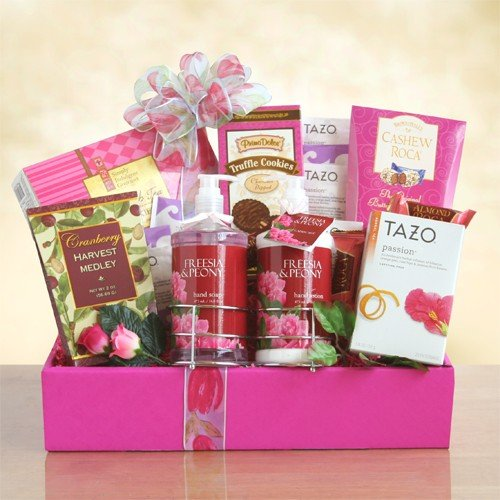 Me Time Ultimate Spa Gift Basket For Her