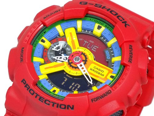 Casio CASIO G shock g-shock crazy colors watch GA 110FC-1 A parallel imported goods