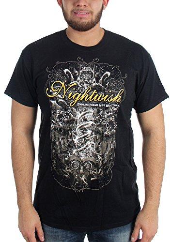 Nightwish-, il 25 aprile Orpheum Theatre-Maglietta nero Medium