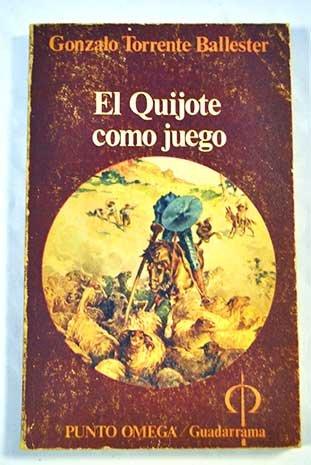 El Quijote Como Juego