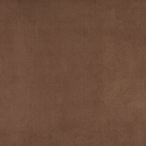 C186 Brown Thin Solid Corduroy Striped Upholstery Velvet Fabric (Brown Corduroy Upholstery Fabric compare prices)