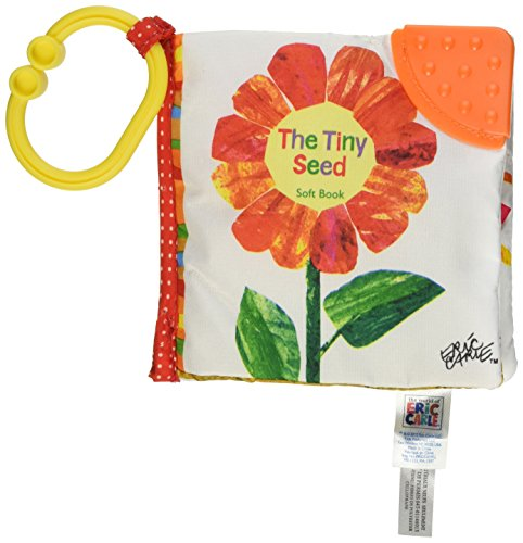 World of Eric Carle, Tiny Seed Clip-On Soft Book by Kids Preferred