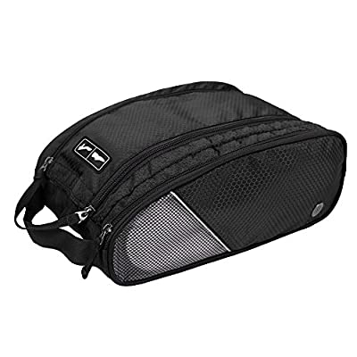 BAGSMART Portable Travel Shoe Bags Gym Sport Sack Organizer