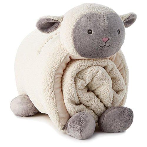 Lamb Pillow and Blanket Set - Epic Kids Toys