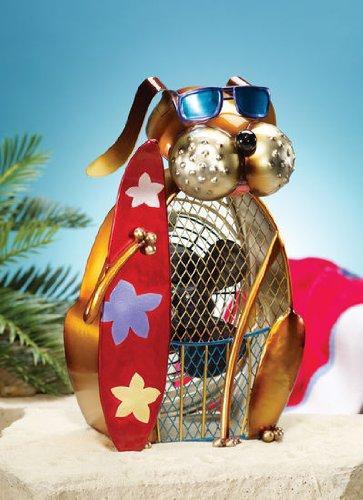 Deco Breeze Dog Fan, Surfer Picture