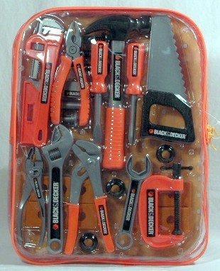 Black & Decker Junior 25 Piece Tool Set Children, Kids, Game front-1046220