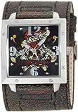Ed Hardy Men's WA-LK Warrior Love Kills Stainless Steel 316L Watch