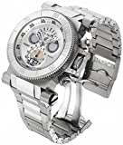 Invicta Coalition Forces Chronograph Silver Dial Stainless Steel Mens Watch 17639
