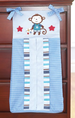 Summer Infant Diaper Stacker, Team Monkey